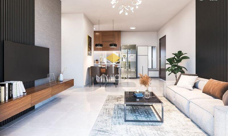Mẫu phòng khách chung cư hiện đại, đơn giản