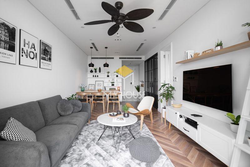Thiết kế nội thất chung cư đẹp và tiện nghi sử dụng