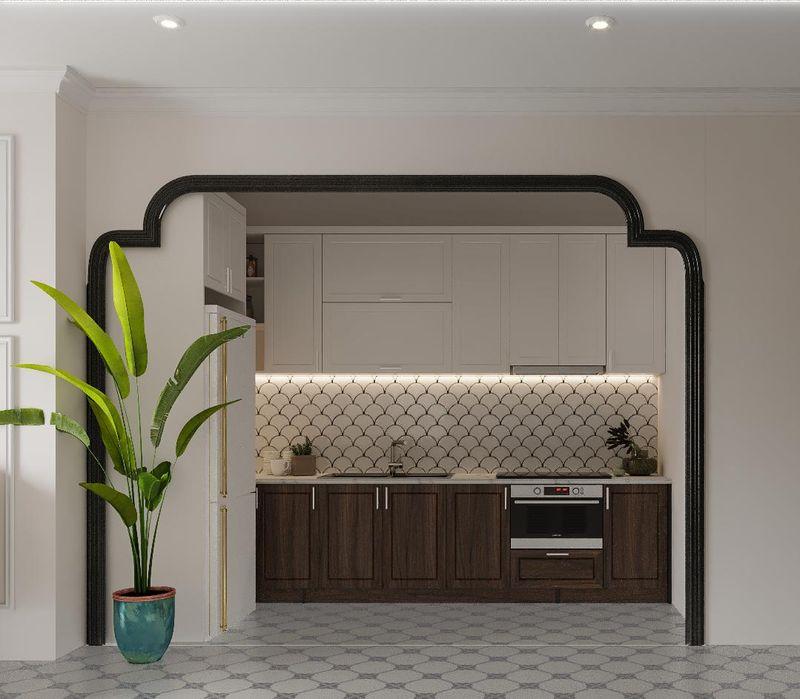 Mẫu thiết kế nội thất chung cư Indochine - Phòng bếp