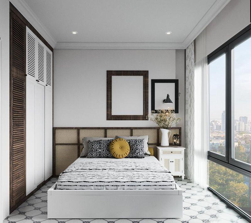 Mẫu thiết kế nội thất chung cư Indochine - Phòng ngủ