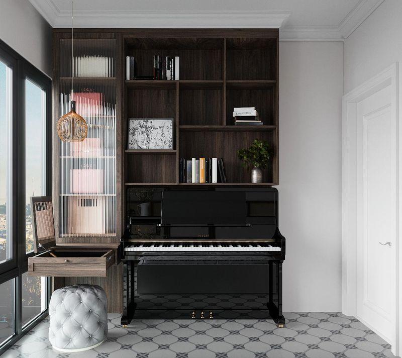 Mẫu thiết kế nội thất chung cư Indochine - Phòng ngủ 3