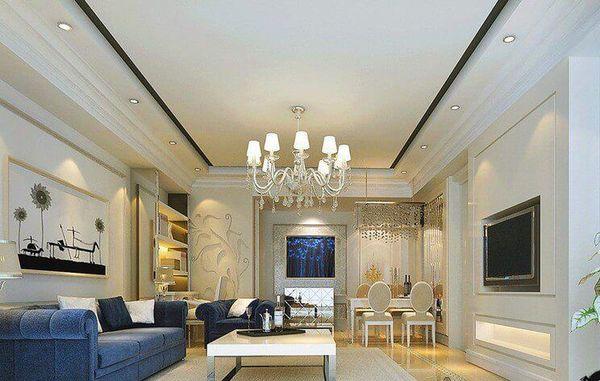 Mẫu nội thất phòng khách tân cổ điển cho chung cư cao cấp tân cổ điển