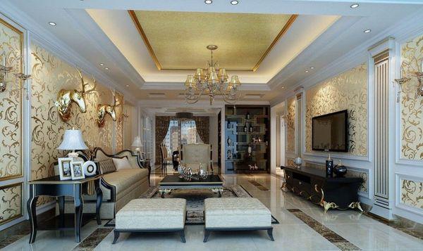 Đặc điểm thiết kế nội thất phòng khách tân cổ điển nhà ống