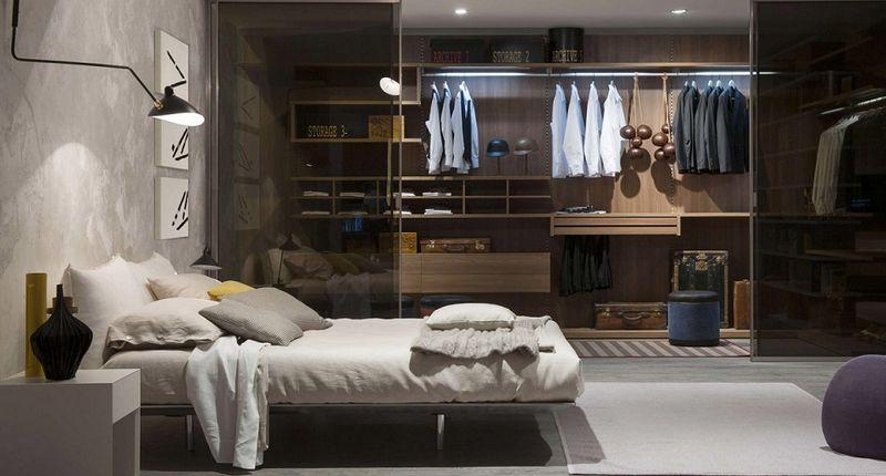 Xu hướng thiết kế phòng ngủ có phòng thay đồ