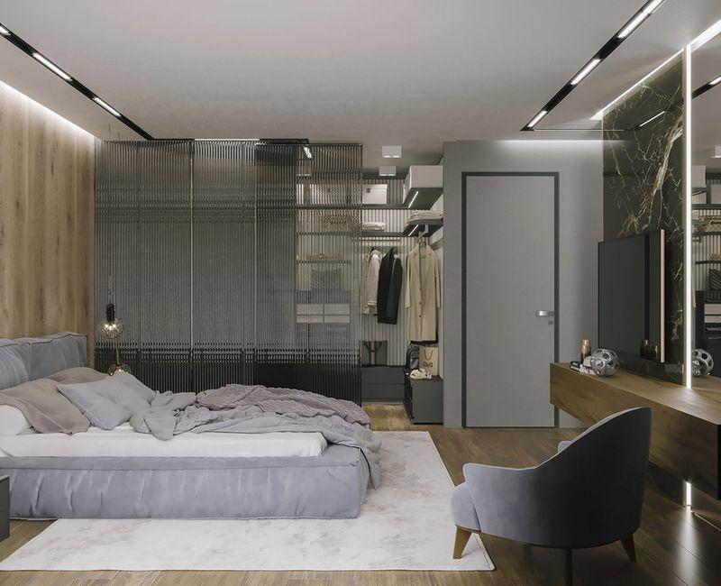 Mẫu phòng thay đồ hiện đại