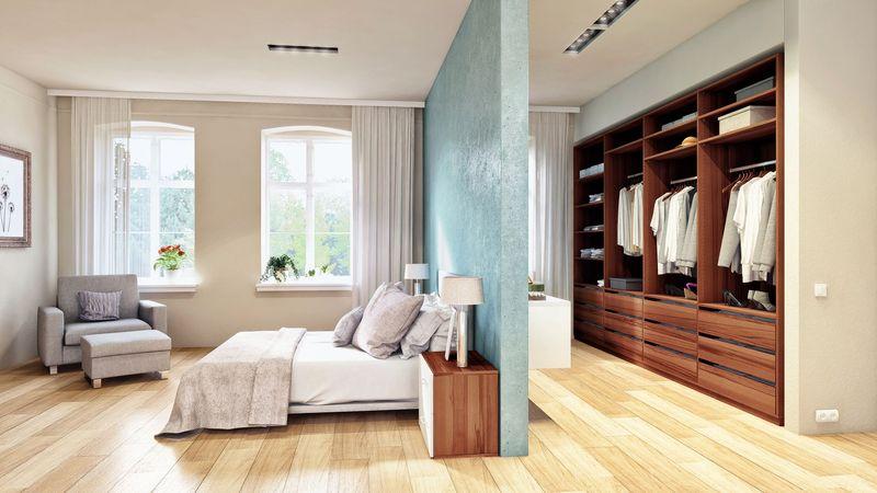 Thiết kế phòng thay đồ mang lại sự tiện ích sử dụng và tăng giá trị thẩm mĩ