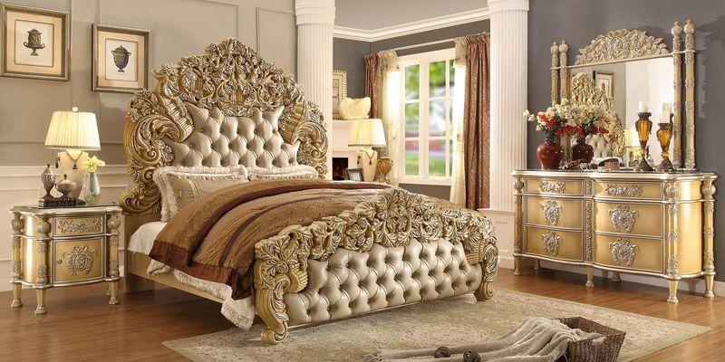 Mẫu thiết kế phòng ngủ cổ điển hoàng gia tinh xảo, cầu kỳ