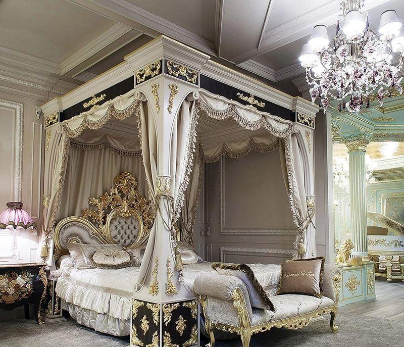 Xu hướng thiết kế phòng ngủ phong cách hoàng gia đẳng cấp