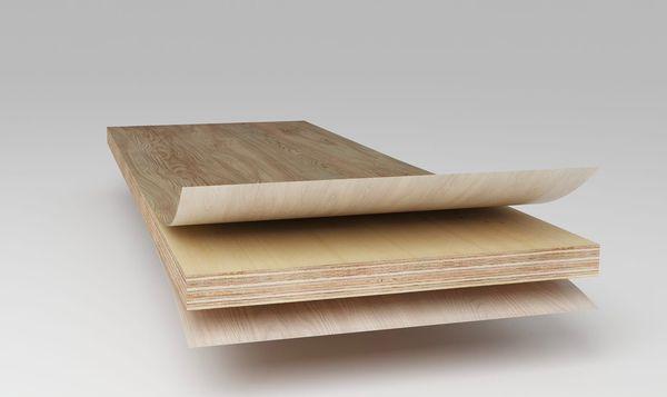 Ván plywood phủ melamine 01