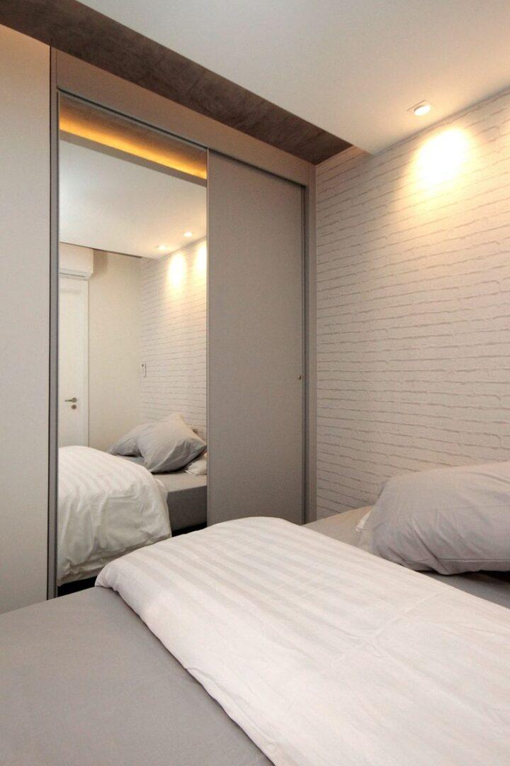 Mẫu thiết kế căn hộ studio 30m2 - 12