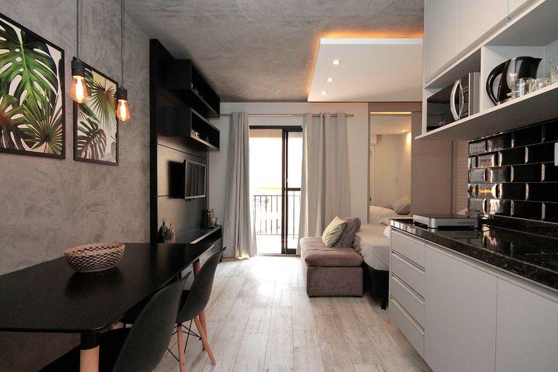 Mẫu thiết kế căn hộ studio 30m2 - 02