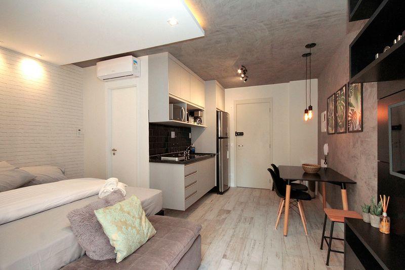 Mẫu thiết kế căn hộ studio 30m2 - 07