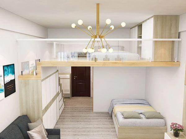 Mẫu thiết kế chung cư mini 20m2 - 12