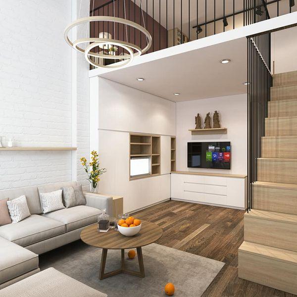 Mẫu thiết kế chung cư mini 20m2 - 11