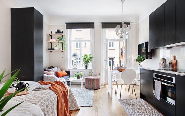 Mẫu thiết kế chung cư mini 20m2 - 15