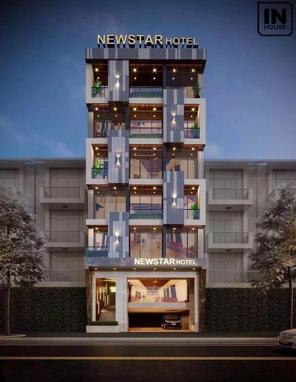 Tiêu chuẩn thiết kế khách sạn mini 6x20 - Phong cách thiết kế tổng thể