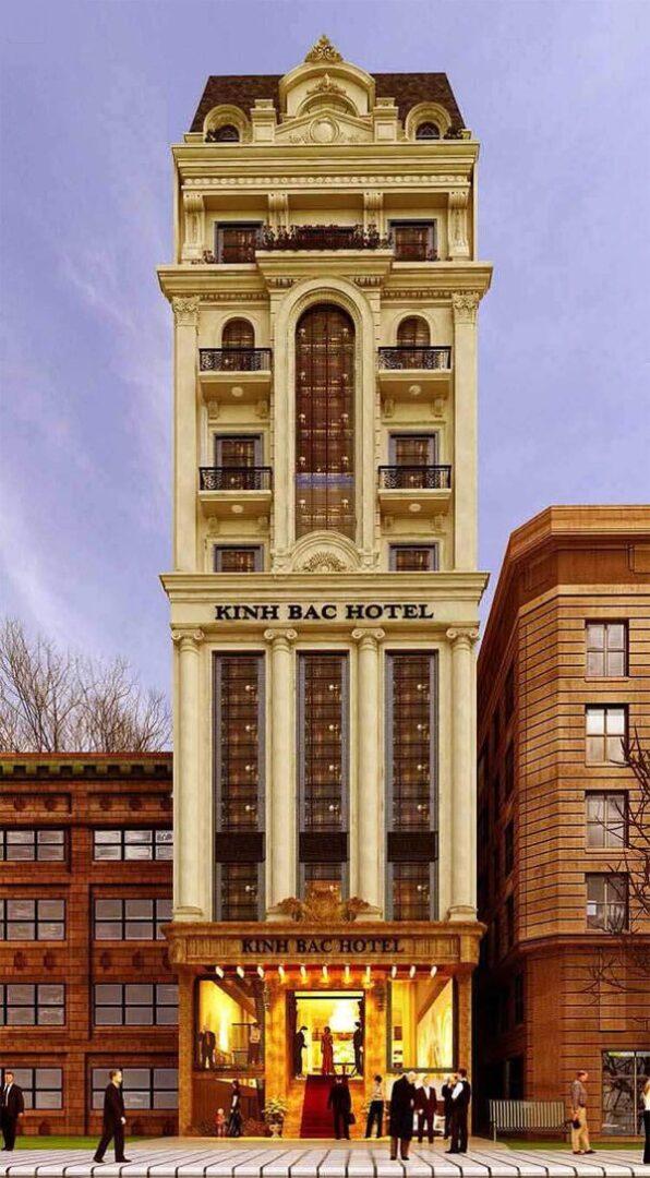 Mẫu thiết kế khách sạn mini 6x20 cổ điển ấn tượng và độc đáo