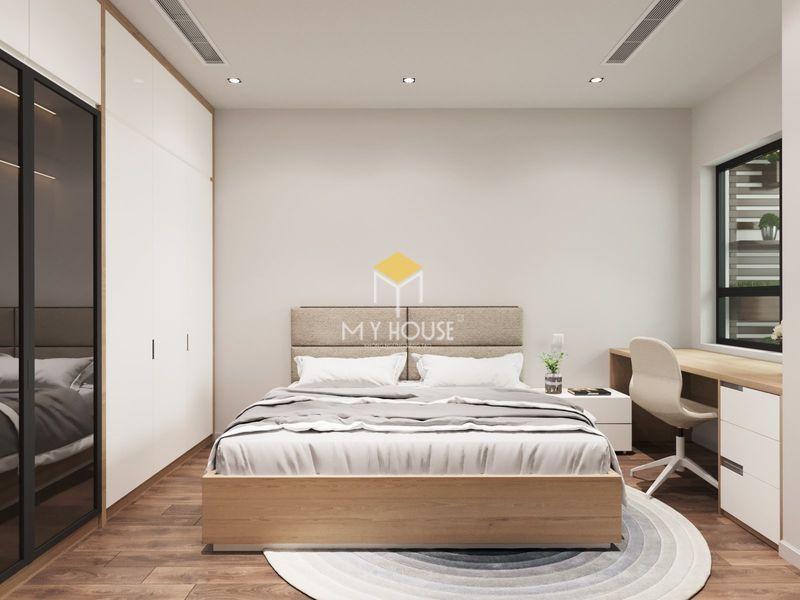 Thiết kế nội thất chung cư Royal City - Phòng ngủ 01