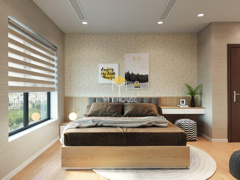 Thiết kế nội thất chung cư Royal City - Phòng ngủ 03