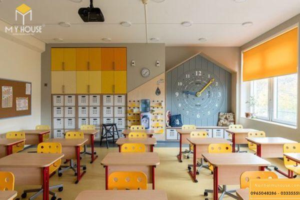 Trang trí phòng học sáng tạo để phát huy hiệu quả học tập