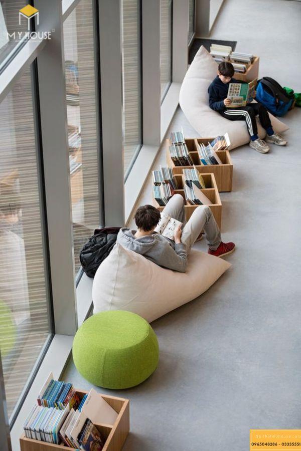 Thiết kế nội thất trung tâm tiếng anh đẹp mang tới hiệu quả học tập cao