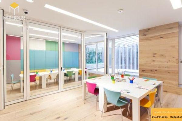 Bố trí nội thất, ánh sáng phù hợp cho việc cho hiệu quả