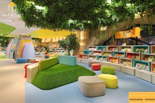 Trang trí với cây xanh mang tới không gian mát mẻ và thư giãn