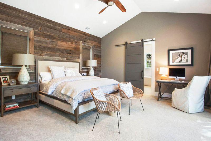 Thiết kế phòng ngủ có nhà vệ sinh đẹp, sang trọng