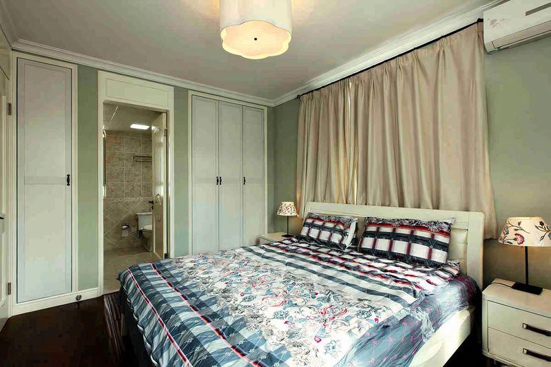 Thiết kế phòng ngủ có nhà vệ sinh tiện nghi sử dụng