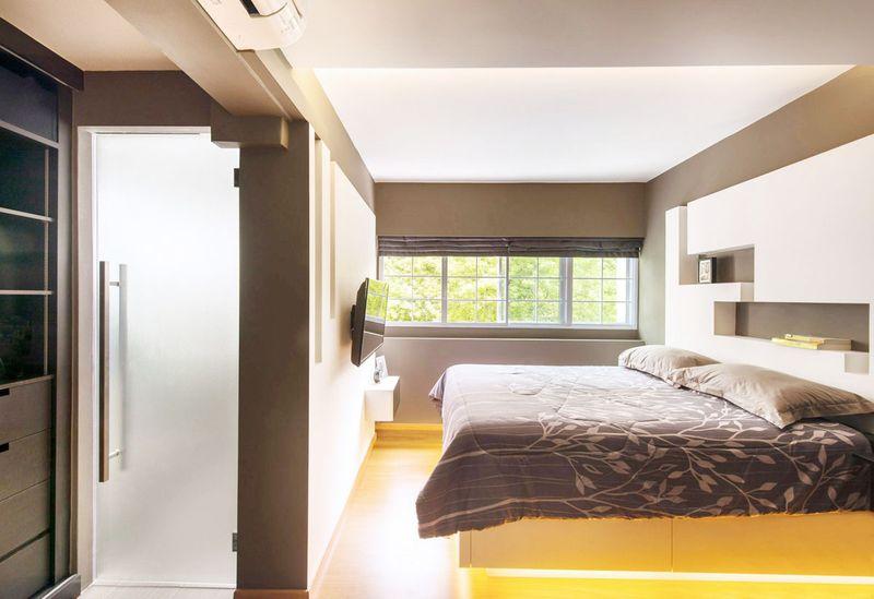 Cấu trúc của nhà vệ sinh trong phòng ngủ