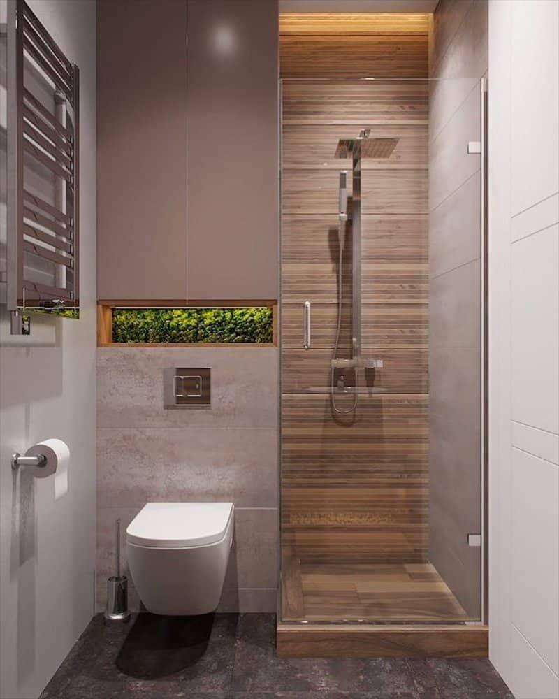 Diện tích của nhà vệ sinh trong phòng ngủ