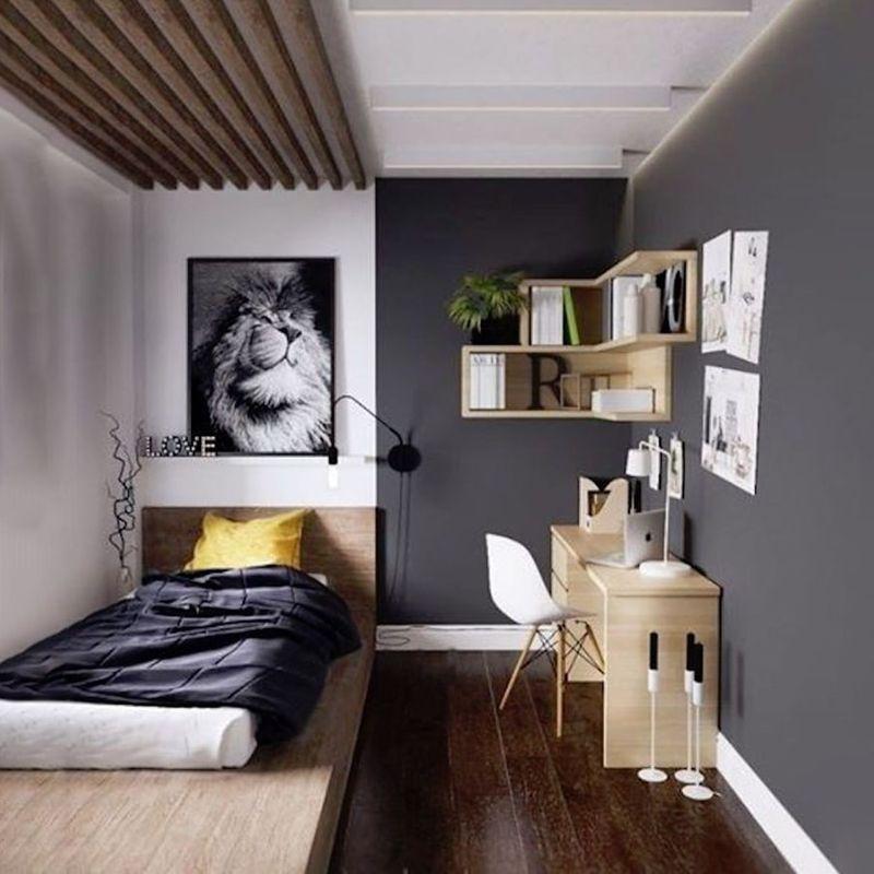 Thiết kế phòng ngủ nhỏ 6m2 - Tận dụng chiều cao & trang trí đơn giản cho không gian