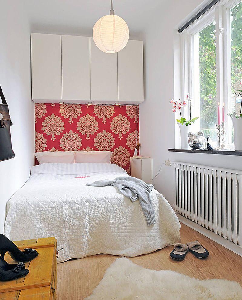Thiết kế phòng ngủ nhỏ 6m2 đơn giản, thông thoáng
