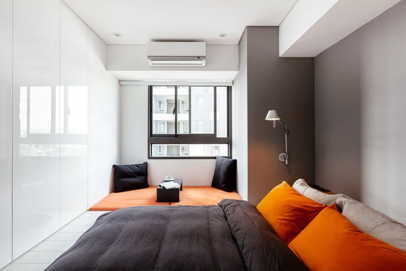 Mẫu thiết kế phòng ngủ nhỏ hẹp dài