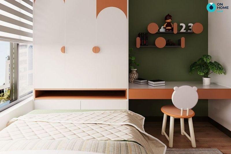 Mẫu thiết kế phòng ngủ nhỏ 6m2 đẹp cho bạn nữ