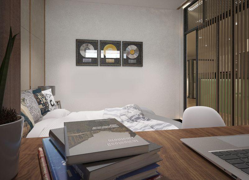Trang trí đơn giản cho phòng ngủ nhỏ hẹp