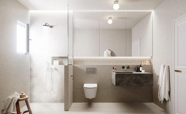 Thiết kế phòng tắm 4m2 - 05