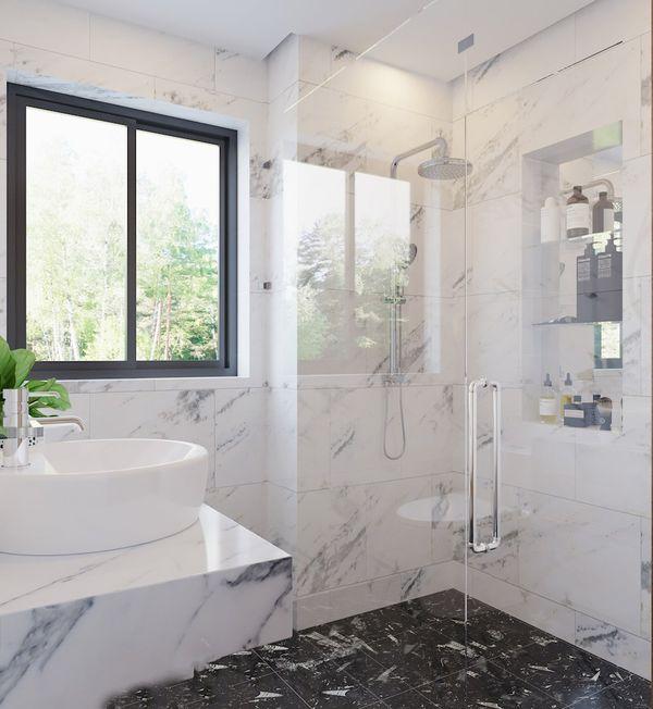 Thiết kế phòng tắm 4m2 - 13