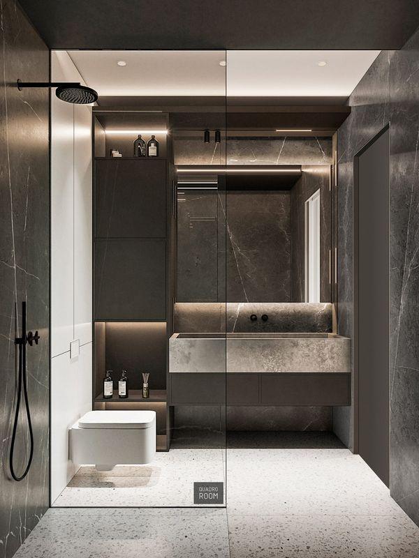 Thiết kế phòng tắm 4m2 - 21