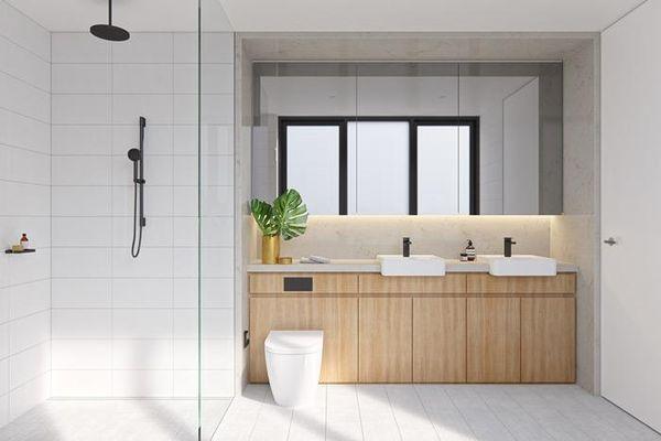 Thiết kế phòng tắm 4m2 - 10