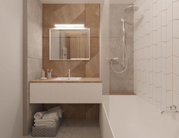 Thiết kế phòng tắm 4m2 - 01