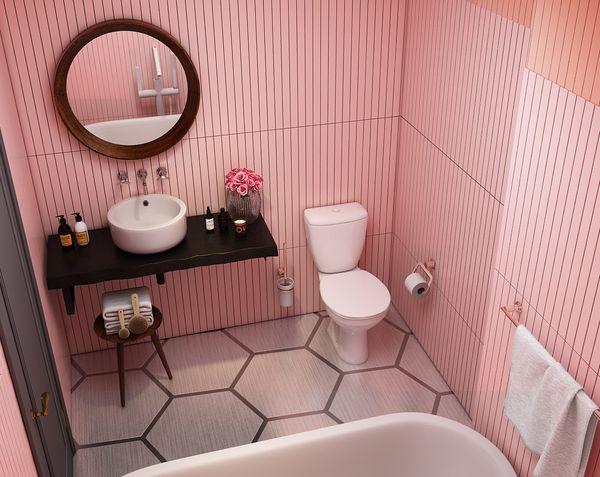 Thiết kế phòng tắm 4m2 - 04