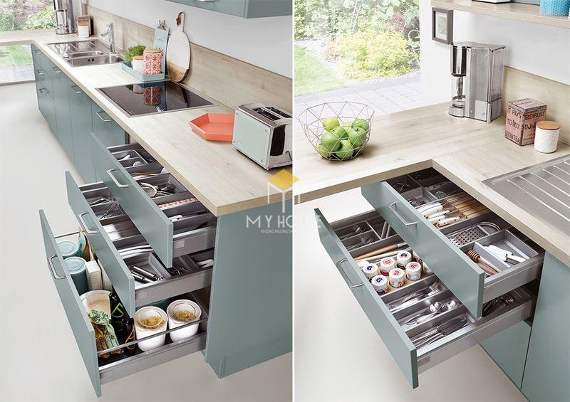 Thiết kế tủ bếp thông minh 3