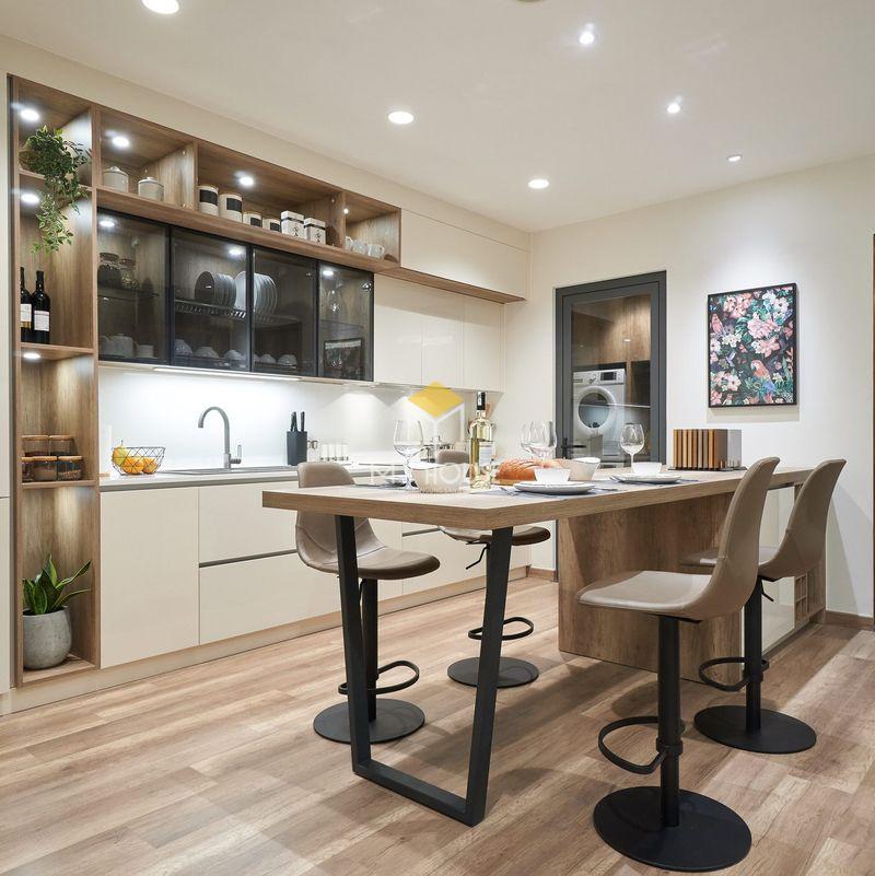 Thiết kế tủ bếp thông minh để đơn giản hóa cuộc sống