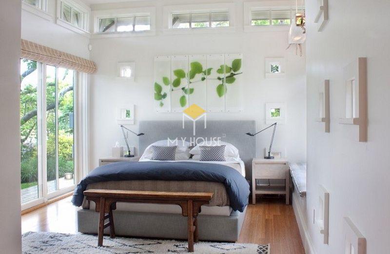 Trang trí phòng ngủ đơn giản, không gian mở