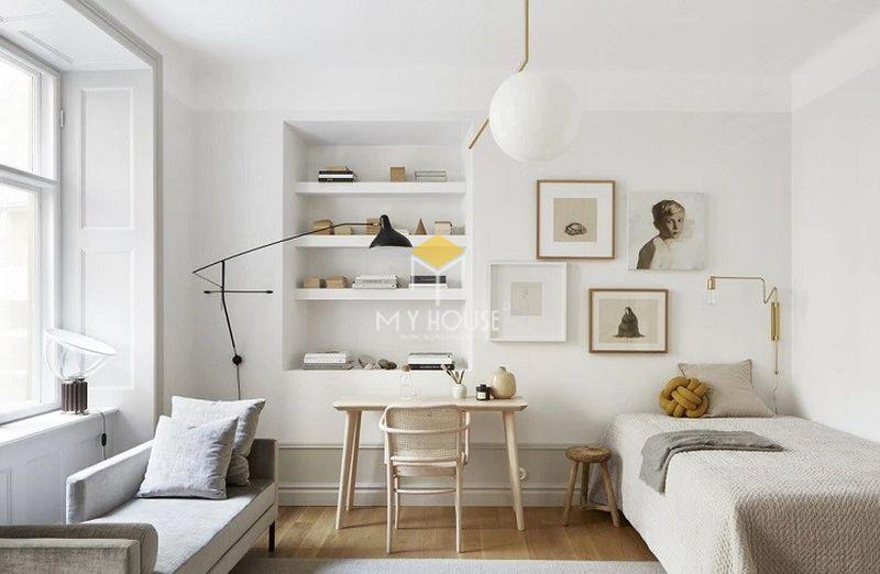 Trang trí phòng ngủ bình dân bằng đồ handmade đơn giản