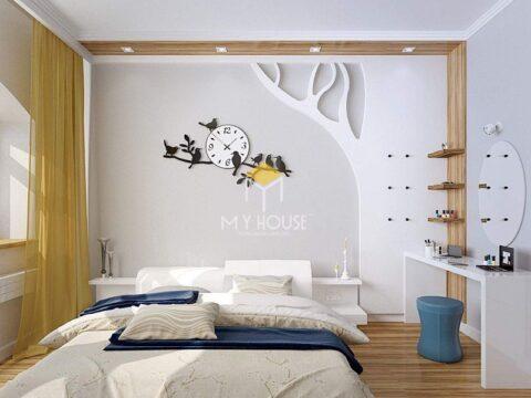 Trang trí phòng ngủ bình dân 5