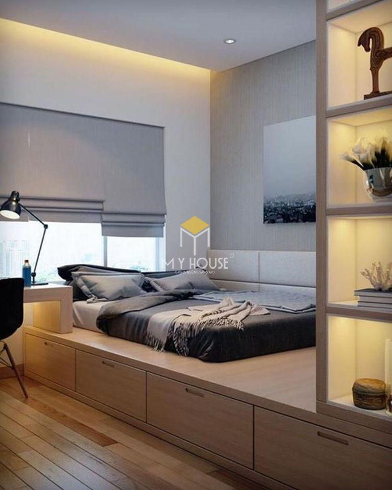 Trang trí phòng ngủ bình dân nhỏ hẹp