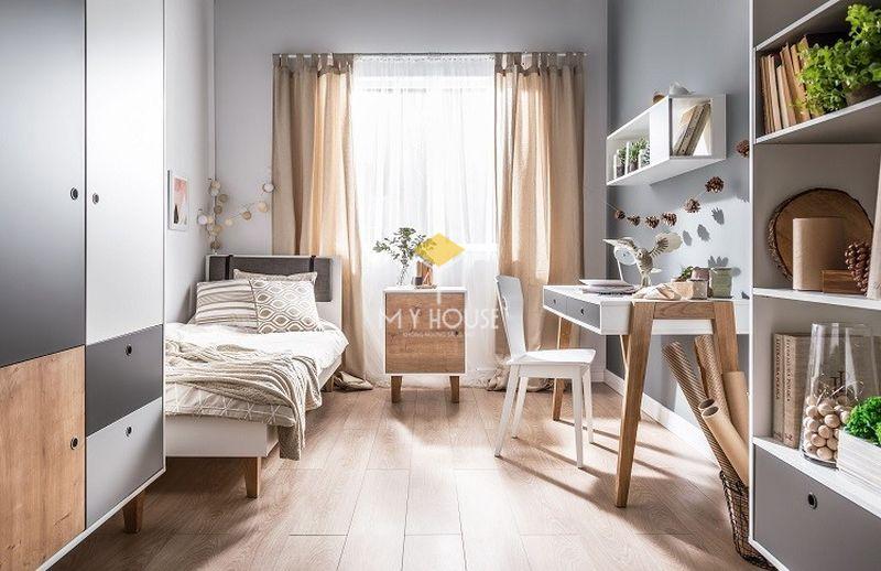 Trang trí phòng ngủ bình dân với không gian thông thoáng