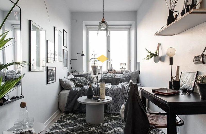 Trang trí phòng ngủ với thảm trải sàn
